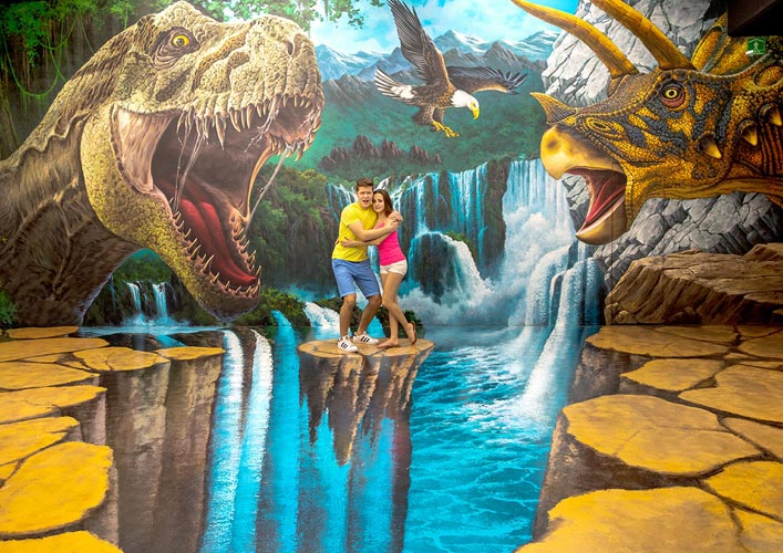 time Travel: meet the dinosaurs